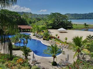 The beach club at Los Sueños Resort.