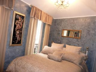 Master bedroom with romantic view and ensuite full shower room
