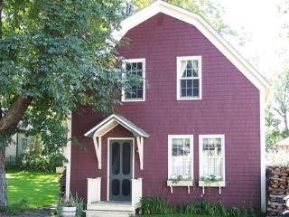 This charming carriage house is located in the historic town of Shelburne, Nova Scotia, Canada.