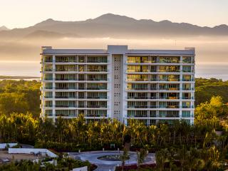 Welcome to the Grand Luxxe Villa at Nuevo Vallarta. They are corner units in this and 3 other towers