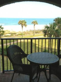 Oceanside balcony
