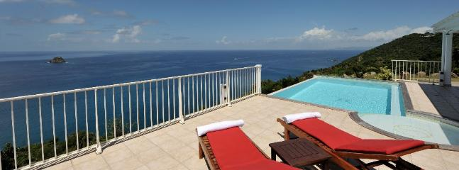 Manon at Colombier, St. Barth - Ocean View, Amazing Sunset Views, Private