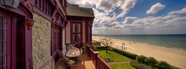 Sublime Norman Villa on the beach in Deauville