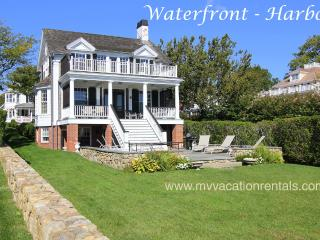 Waterfront Side of House, Patio, Upper and Lower Decks