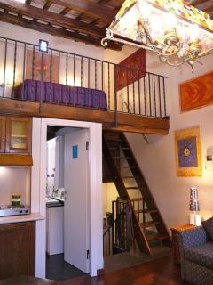 Apartment Romantica holiday vacation apartment rental italy, rome, trastevere