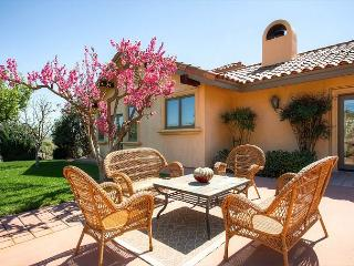 Front Patio with Vineyard Views