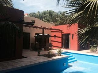 Pool and Outdoor Eating Area