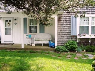 Front condo unit with private porch - 767 Route 28 #9 Harwich Port Cape Cod New England Vacation Rentals
