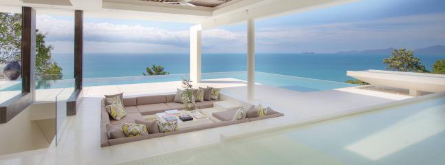 Modern light luxury villa, Koh Samui, 4 bdr.