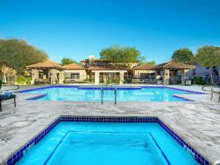 Large heated private pool and spa
