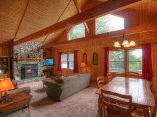 Spacious Open Floor Plan With Views and Lots of Natural Light, Stone Fireplace