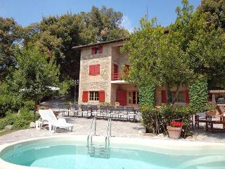 View of the Villa Evergreen with swimming pool