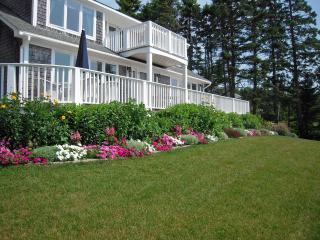 The gardens at Monhegan View are lovingly care for weekly.
