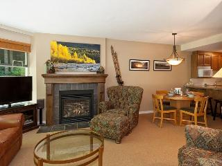 Living Area with Gas Fireplace, Flat Screen TV