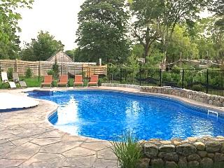 Gorgeous heated in ground pool