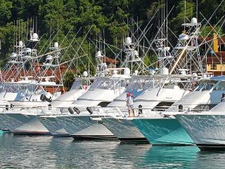 The Marina at the resort offers some of the best sport fishing at the resort.