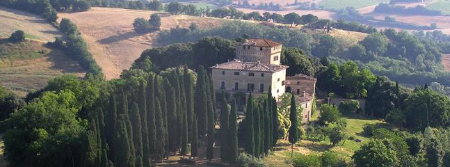 8 bedroom Villa in Buonconvento, Val D Orcia, Tuscany, Italy : ref 2307546