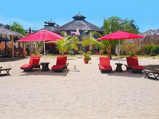 Negril Beachfront Cougar Villa, 6 BR