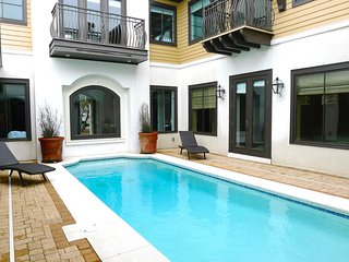 Starfish offers a 30' x 20' Private Heated Pool with plenty of lounging space