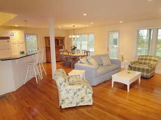 Light - bright- open coastal living at its best -french door leads to large deck- central air and WIFI through out - 24 Sea Mist Lane Chatham Cape Cod New England Vacation Rentals