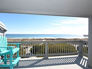 Patch of Paradise oceanfront deck