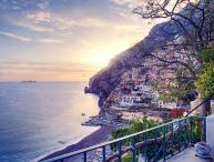 Villa Rental in Positano with Beach Access and Sea Views - Le Scogliere