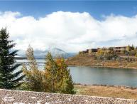 ON LAKE DILLON WITH A VIEW, 1 BDRM EAST BAY TWN HM