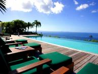 Luxury 5 bedroom St. Barts villa. 270 degrees of ocean and garden views!