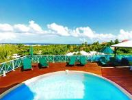 TINTAMARRE...@ Green Cay Villas... lovely views, fresh breezes, comfortable villa overlooking beautiful Orient Bay
