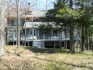 Serene Lake Michigan Home on High Bluff