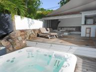 Buddha Bay at Marigot, St. Barth - On the Beach, Outdoor Living Space,  Jacuzzi