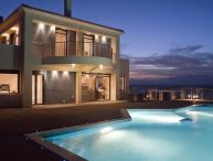 Villa Sun holiday vacation villa rental greece, crete, sea views, pool, near