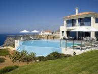 Villa Moon holiday vacation villa rental greece, crete, sea views, pool, near