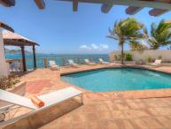 LA VISTA GRANDE...water front villa, short walk to Simpson Bay or Burgeoux Bay
