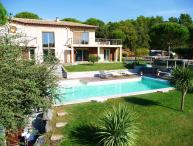 St Tropez 4 Bedroom Villa Gassin with a Hot Tub, Fireplace, and Terrace