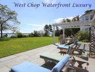 FIELR - Exquisite West Chop Waterfron Home, Panoramic Ocean Views, Beach, Less that  a Mile to Town Center