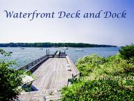 KERR4 -  Sophisticated and Charming Waterfront Cottage, Large Waterfront Deck, Dock, Tennis Court, Spectacular Views