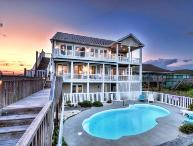 N. Shore Dr. 502 Oceanfront! | Private Heated Pool, Hot Tub, Elevator