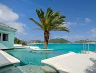 EL SUENO...unsual oceanfront villa with amazing views of Great Bay Harbor... fabulous!!