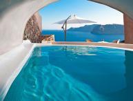 Blue Villas   Glauke   Luxury Villa in Oia