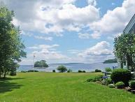 The view from the property looks all the way down Penobscot Bay