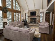 Enjoy this beautiful 5 bedroom Vail vacation home located near Lift 20 at the base of Vail Mountain.