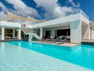 Grand Palms - Terres Basses, Saint Maarten- Private Pool, Modern, Gated