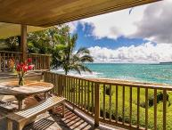 15% Off Available Winter Dates! Gorgeous Beachfront Haena Home! Amazing views