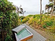 Stunning Oceanfront with Private Beach Access, Bonus Room, Hot Tub, & Sauna
