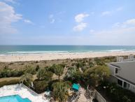 Station One - 5J Grine - Oceanfront condo with community pool, tennis, beach