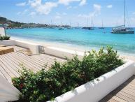 AQUALINA 102...Face the gorgeous Caribbean Sea along one of St. Maartens
