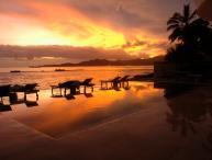 Great Beachfront 4bdrs villa - Villa Jukung
