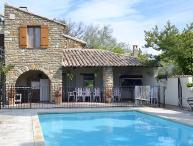 Vaison-la-Romaine, caracterful restored landhouse 10p. private pool