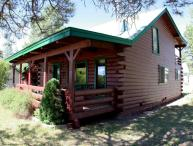 1 Little Rabbit is a charming, 3 bedroom, rustic cabin rental in Pagosa Springs.